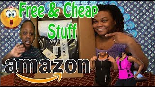 VIPON Get Free & Cheap Amazon Stuff| Sauna Sweat Vest Unboxing |🇯🇲 Jamaicanyoutuber