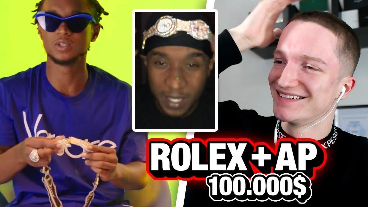 Rapper Kauft Brille Aus 2 Uhren Meine Reaktion Youtube