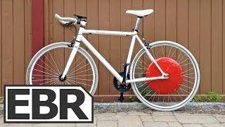Prototype Superpedestrian Copenhagen Wheel Video Review - Smart Wheel Electric Bike Conversion Kit