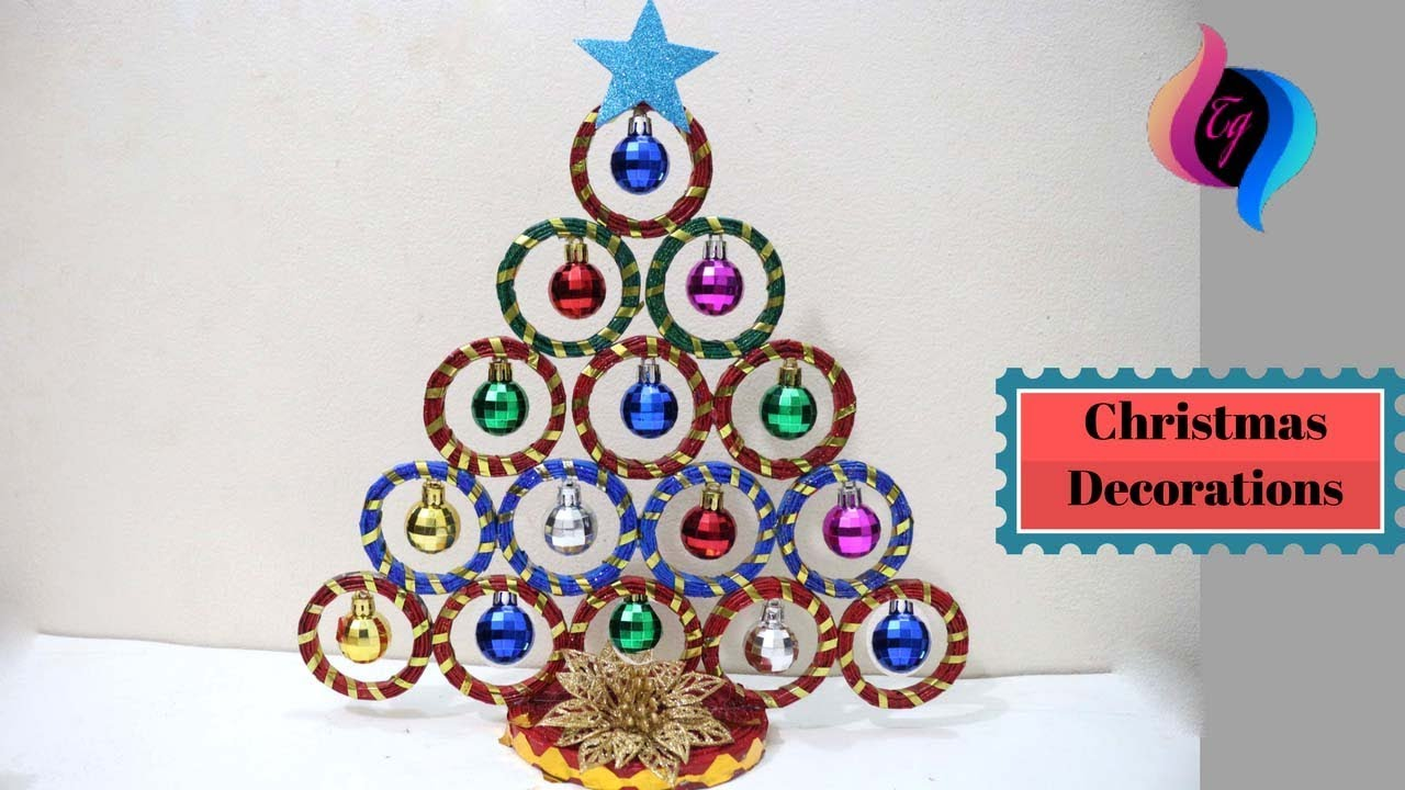 How To Make A Christmas Decoration