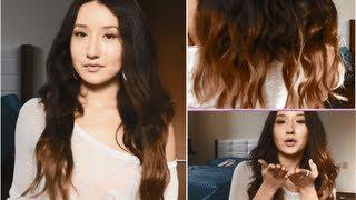 Сделай сам!! Омбре на накладных волосах(Twitter - sofia_ten Instagram - sonia_ten осветлитель - venita белая хна на видео омбре кажется рыжим)) но это не так)), 2013-09-19T17:36:07.000Z)