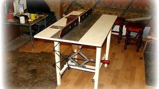Простой фрезерный стол своими руками