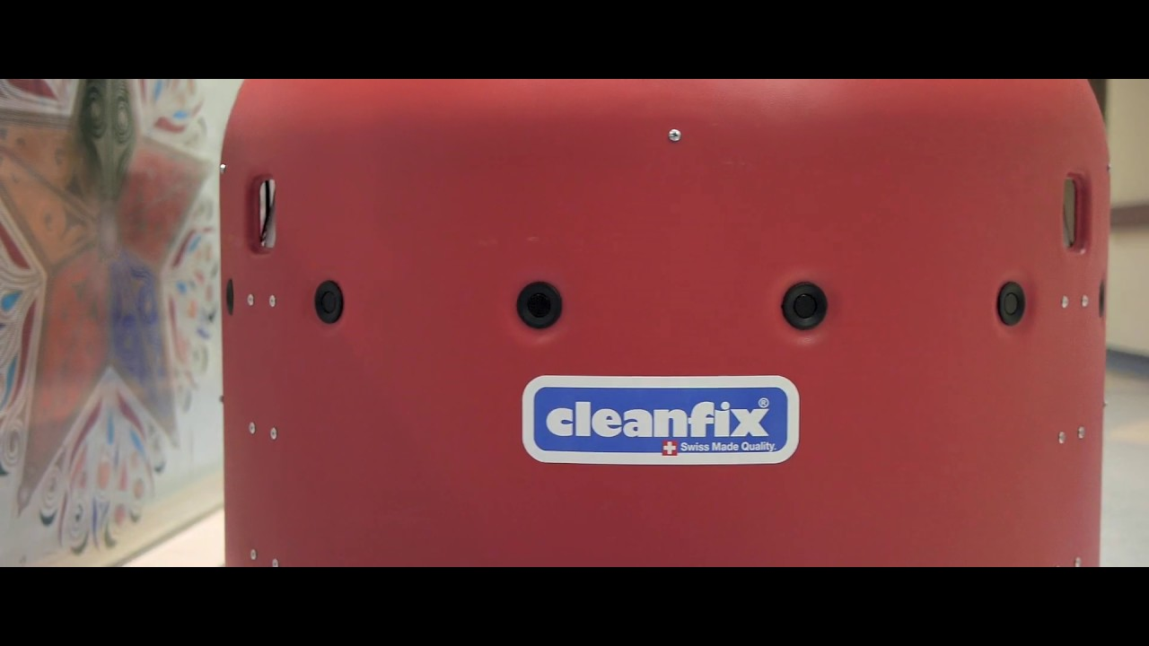 Cleanfix RA 660 Navi Autonomous Cleaning Robot Singapore