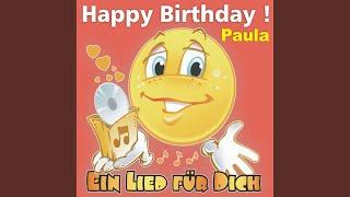 Happy Birthday ! Das rheinische Geburtstagslied für Paula