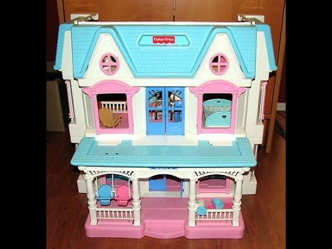 Fisher-Price Loving Doll Dream House 🏡 From 1993