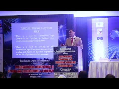 Cyber Law   Recommendations on Cyber crime, information sharing and cyber war by Pavan Duggal