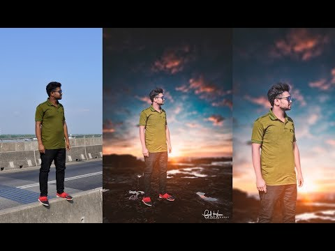 Background Changing | Magical Effect 2K18 | Tapash Editz Quick And Easy Photo Manipulation