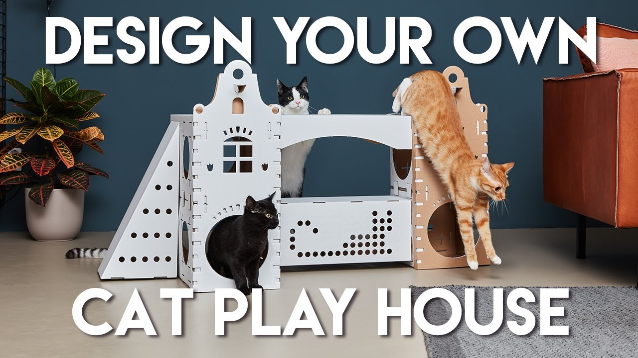 A house for cats with their own hands - whim or need 62
