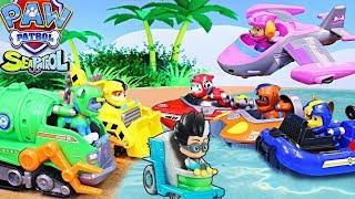 Щенячий Патруль і Герої в Масках Ромео - машинки без бензину. Іграшки Paw Patrol