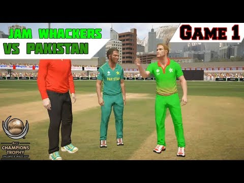 Champions Trophy 2017 - Game 1 - Jam Whackers vs Pakistan