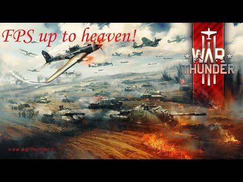 1.63 War Thunder Повышаем стабильность и FPS.  FPS up to heaven!