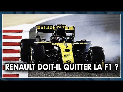 RENAULT DOIT-IL QUITTER LA F1 ? Les Pistonnés F1 #15