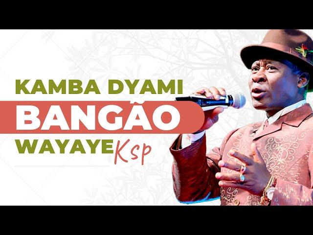 Bangão Kamba Dyami (Wayaye)   Legenda em Kimbundu e Português