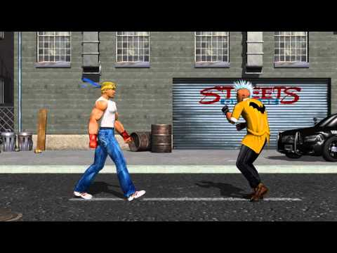 Streets of Rage 3D