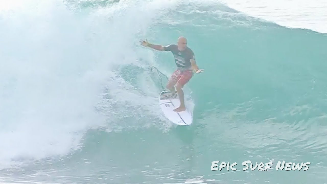 b90bfd0ef9 Kelly Slater Pipe Masters Miracle 2018 - YouTube