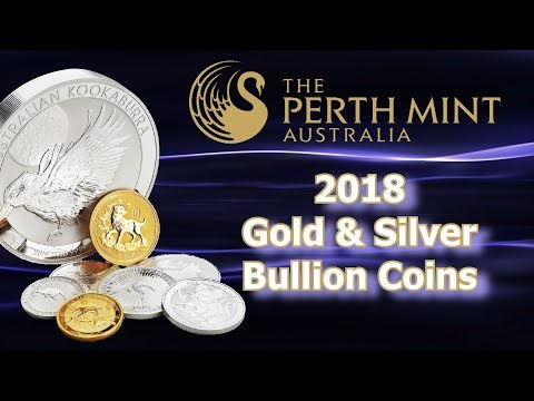 Perth Mint Unveils 2018 Gold & Silver Bullion Lineup