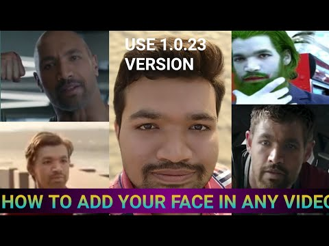 how-to-add-your-face-in-any-video-|-face-swap-video-editing-|-how-to-add-3d-face-in-video-|-binod