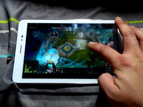 dota2 on android tablet youtube