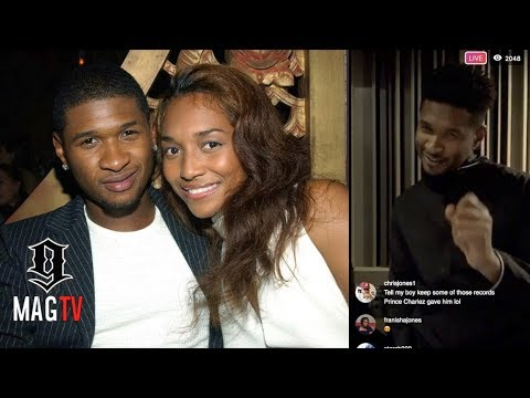 Usher Recalls His Relationship With Chilli While Workin On Confesssions 2 Album!