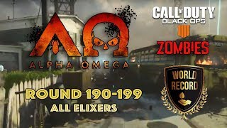 Alpha Omega🏆World Record 190-199 BO4 Zombies - Call of Duty: Black Ops 4