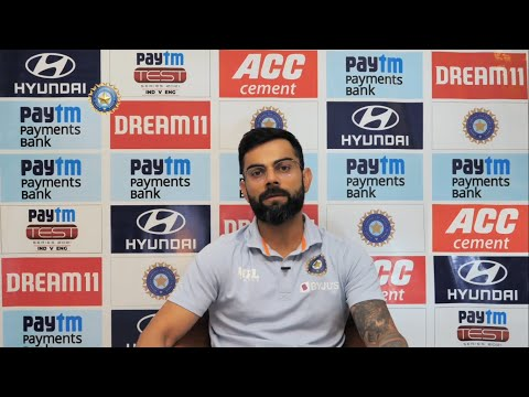India vs England 4th Test, Virat Kohli press conference