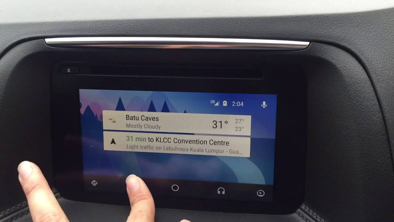 mazda connect android auto - youtube