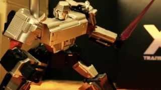 Transformers Apollyon X-transbots stop motion