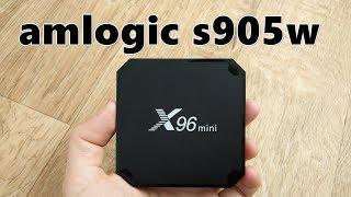 Tv box X96 mini на Amlogic S905W обзор и сравнение с приставками на RK3328(, 2017-11-17T12:55:29.000Z)