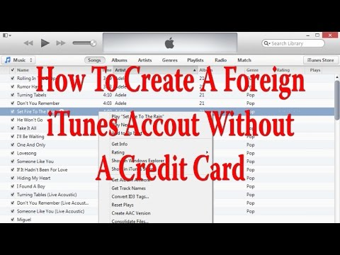 how to make a us itunes account without credit card