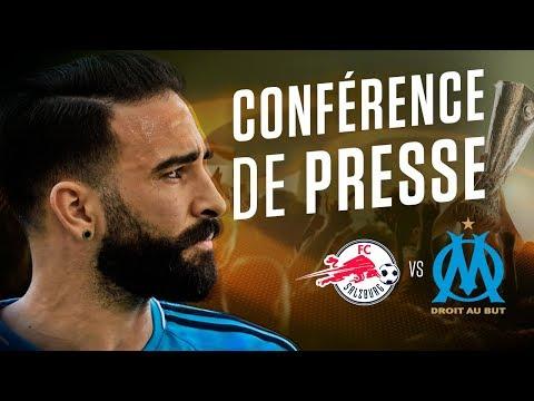 FC Salzburg - OM | La conférence d'Adil Rami & Rudi Garcia