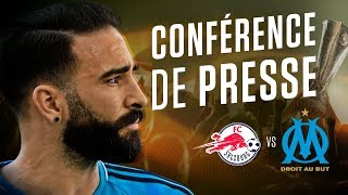 FC Salzburg - OM   La conférence d