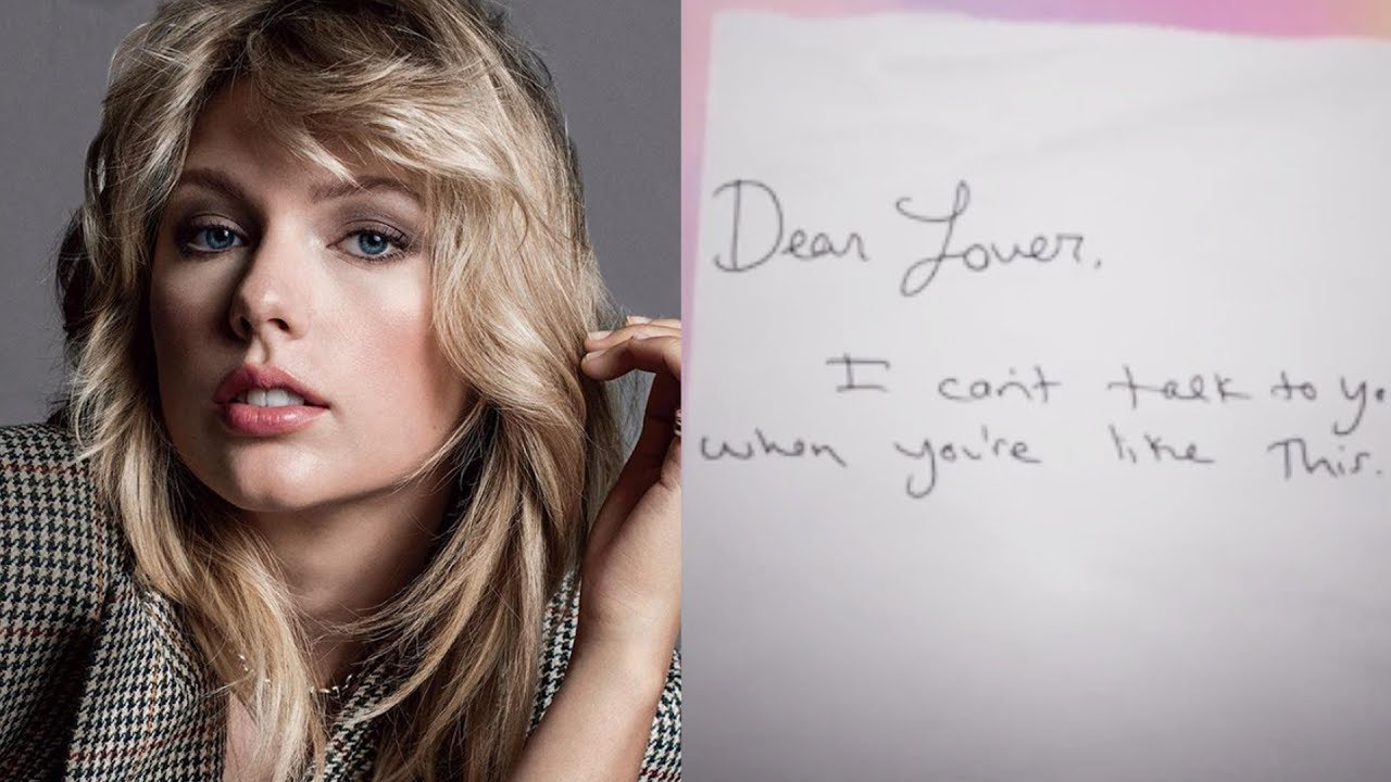 Taylor Swift Releases Personal Love Letters Playlist Youtube