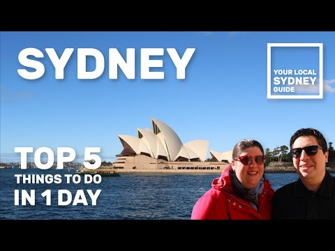 TOP 5 THINGS TO DO IN SYDNEY - CIRCULAR QUAY TRAVEL TIPS (Your Local Sydney Guide)