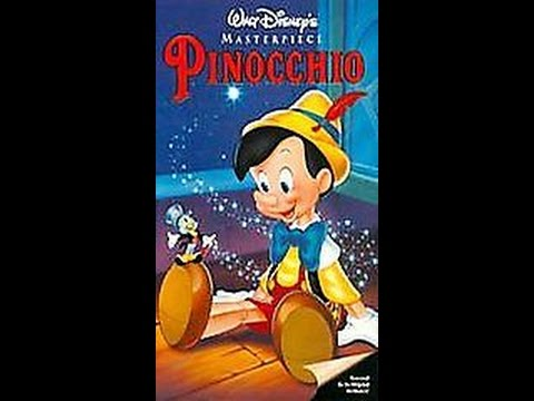Opening To Pinocchio 1993 VHS - YouTube