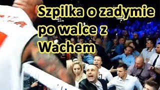 """Szpilka o zadymie po walce w Gliwicach: """"Nie pozwolę, żeby jakiś pedał do mnie tak mówił."""""""