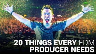 20 things every edm producer needs to succeed