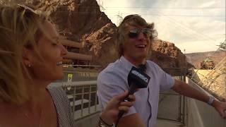 Ron Baker Visits the Hoover Dam! | New York Knicks | MSG Networks