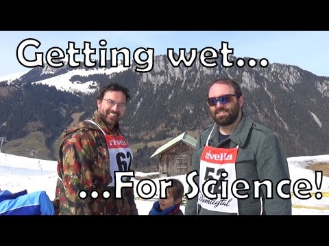 Wool vs. Cotton uniforms 2: getting wet for science!