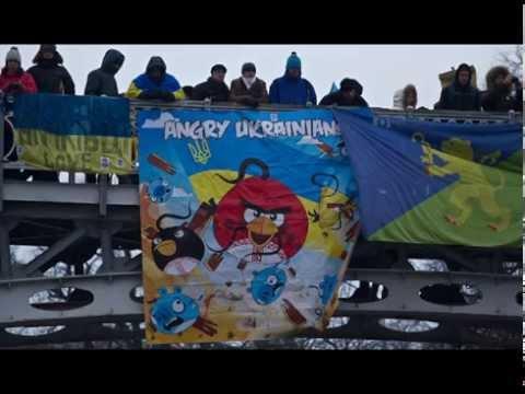 Selfie - Angry Ukrainians
