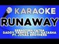 Sebastián Yatra, Daddy Yankee, Natti Natasha - Runaway ft  Jonas Brothers KARAOKE