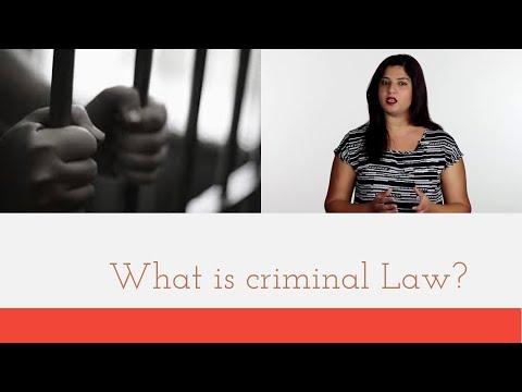 1 - Defining Criminal Law