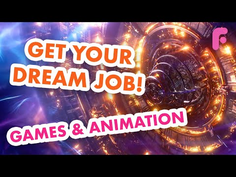 Get Your Dream Job in Games or Animation thumbnail