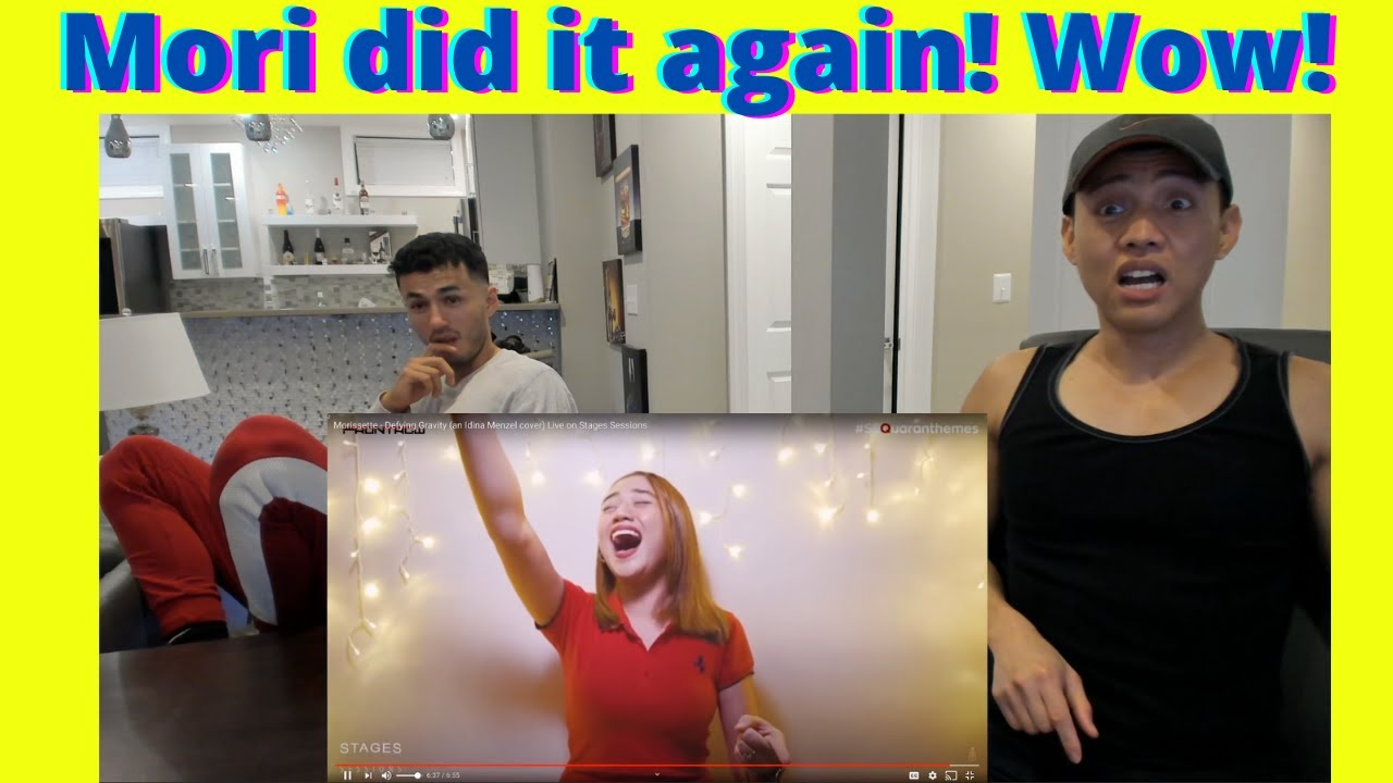 Morissette Amon - Defying Gravity (an Idina Menzel cover) Live on Stages Sessions   Reaction Video