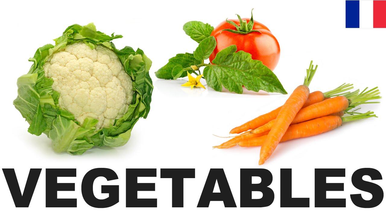 Extrêmement Apprendre le vocabulaire anglais - Les légumes 1 (Vegetables  ED65
