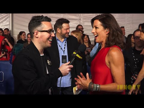 Sarah McLachlan on the 2017 JUNO Awards Red Carpet