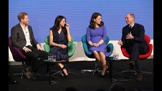 Relaxed Meghan Markle shows her Royal future in-laws how to do it | ITV News