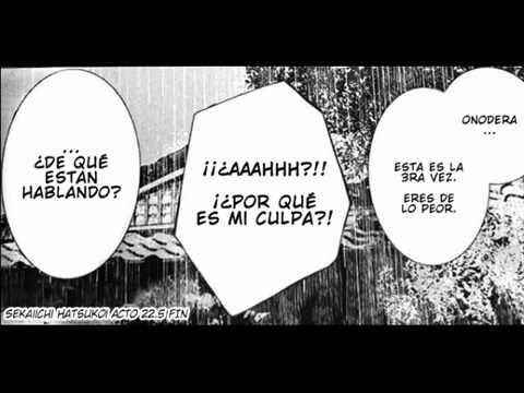 Onodera ritsu no baai Act. 22.5 (Español) - Sekaiichi Hatsukoi manga