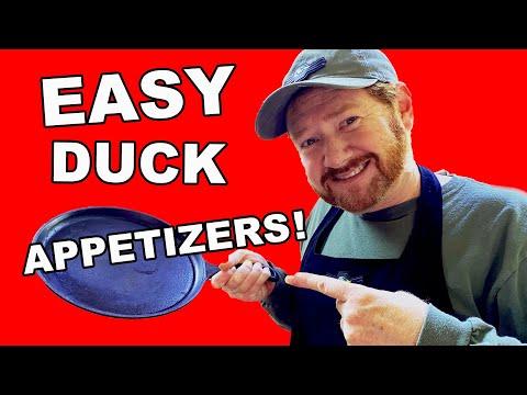 Grilled Mallard Duck | 2 EASY Appetizers!