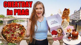 CHEATDAY in PRAG! 😱 Red Velvet Donut, Chimmney Cake, Burger & Co.
