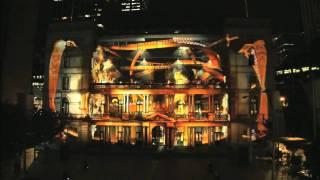Hot Wheels Secret Race Battle - 3D projection mapping in Sydney